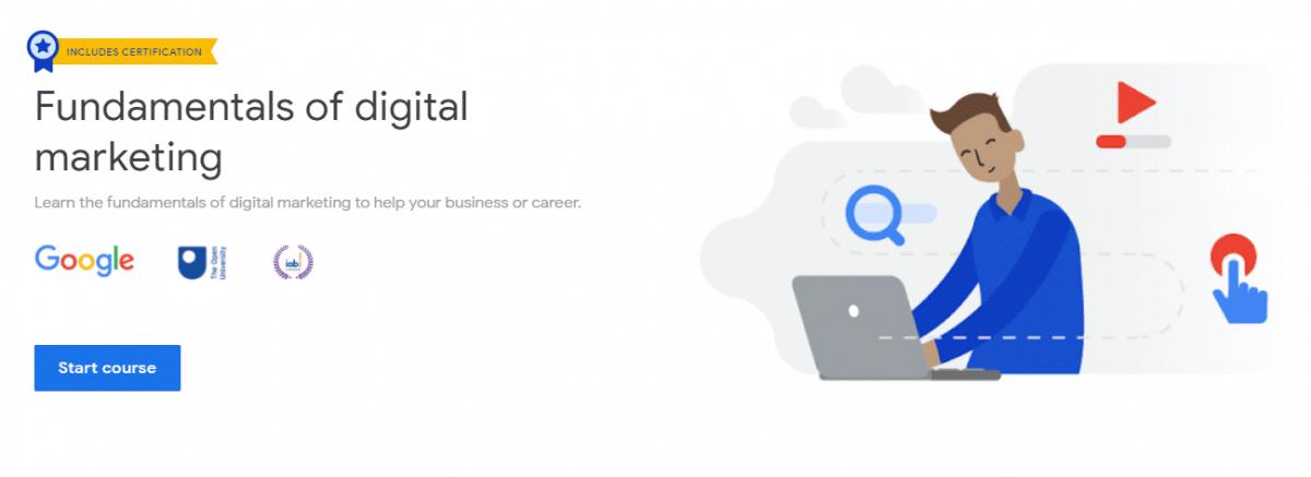 Μαθήματα, σεμινάρια digital marketing, google